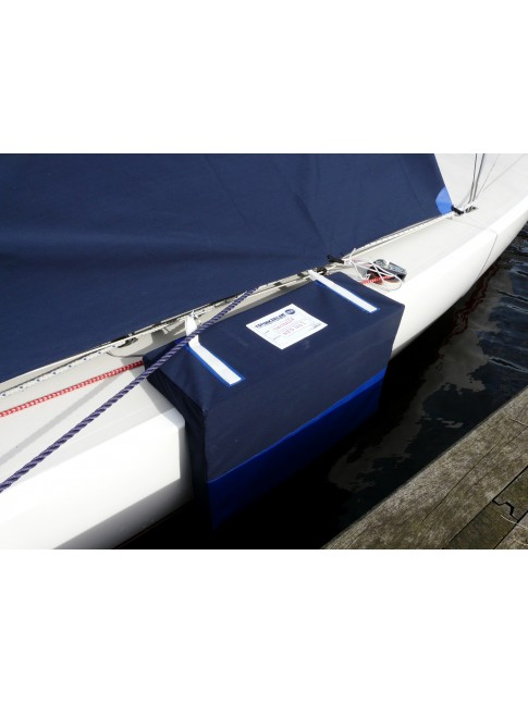Dragon dock fenders Bluetex Navy blue